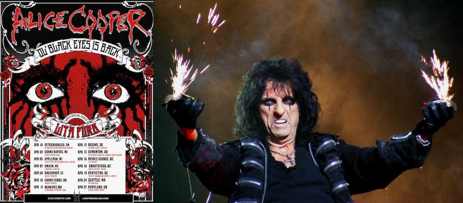 Alice Cooper at Constellation Brands Performing Arts Center