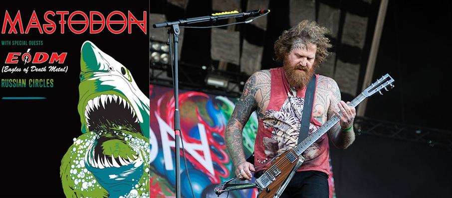 Mastodon at Main Street Armory