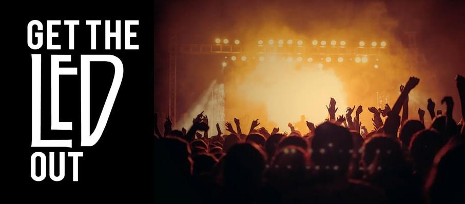 Get The Led Out - Tribute Band at Anthology