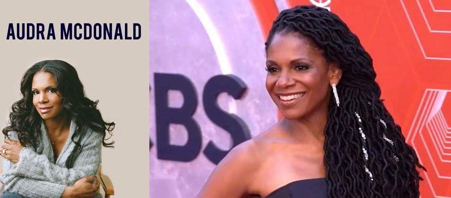 Audra McDonald at Eastman Theatre