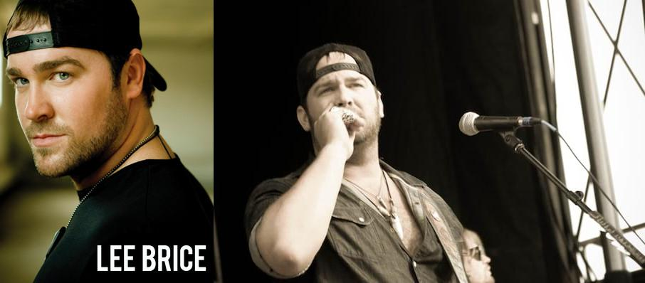 Lee Brice at Main Street Armory