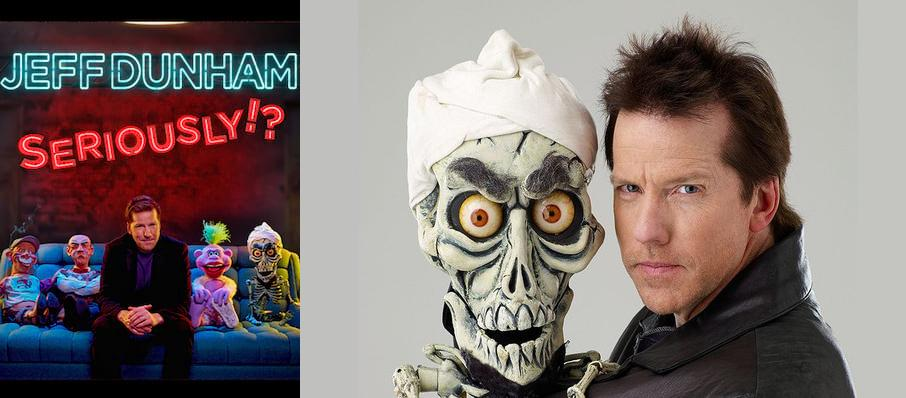 Jeff Dunham at Blue Cross Arena