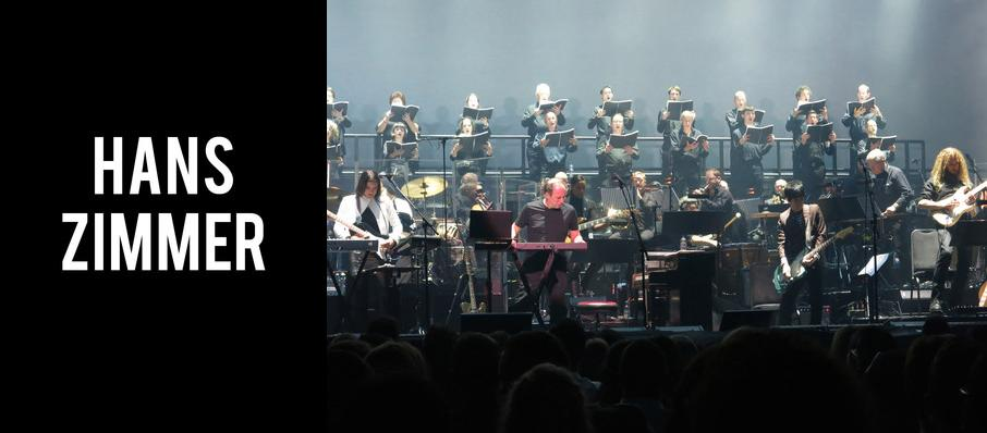 Hans Zimmer at Constellation Brands Performing Arts Center