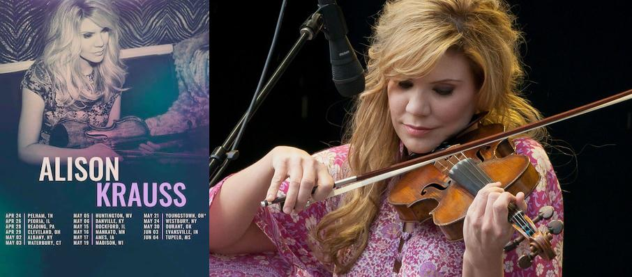 Alison Krauss at Eastman Theatre