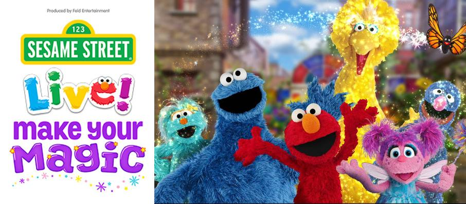 Sesame Street Live - Make Your Magic at Blue Cross Arena