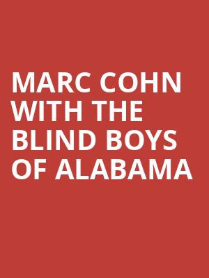 Marc Cohn with The Blind Boys of Alabama at Eastman Theatre
