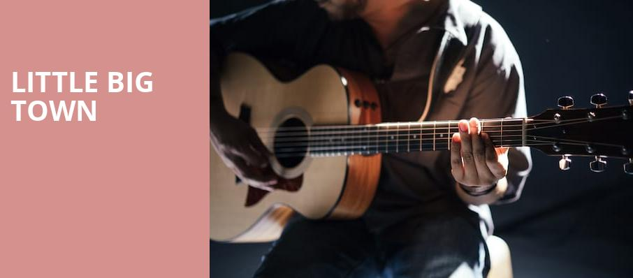 Little Big Town, Constellation Brands Performing Arts Center, Rochester