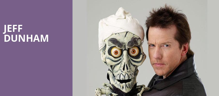 Jeff Dunham, Blue Cross Arena, Rochester