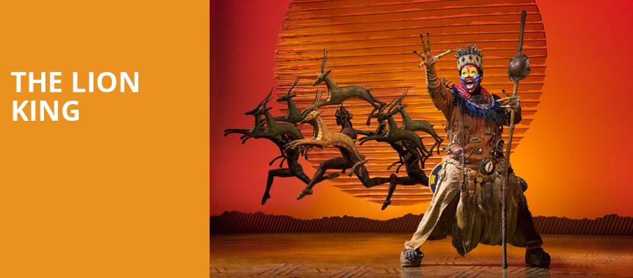 The Lion King, Rochester Auditorium Theatre, Rochester