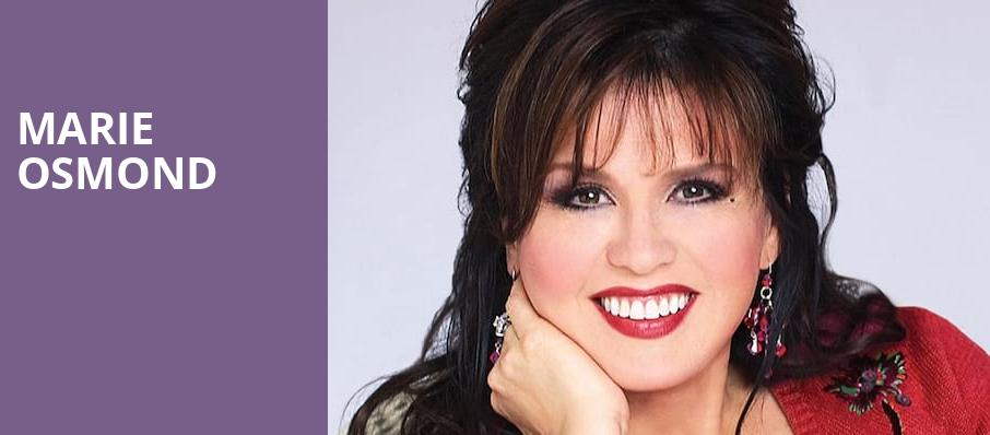 Marie Osmond, Kodak Center, Rochester