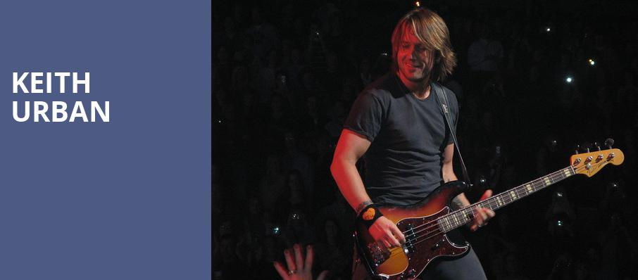 Keith Urban, Constellation Brands Performing Arts Center, Rochester