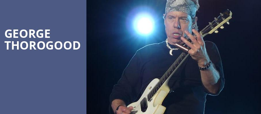 George Thorogood, Martin Luther King Jr Park, Rochester