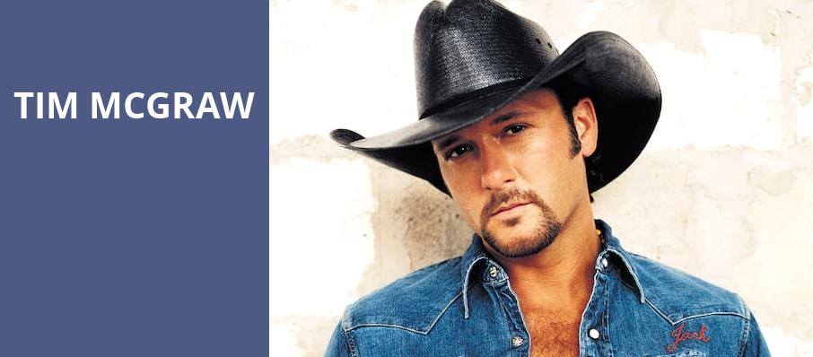 Tim McGraw, Constellation Brands Performing Arts Center, Rochester