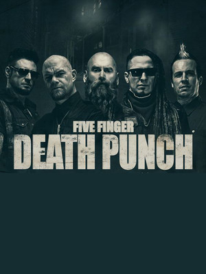 Five Finger Death Punch, Blue Cross Arena, Rochester